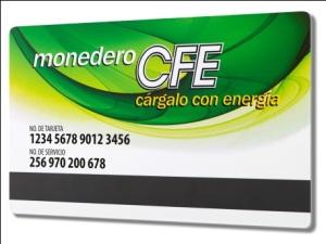 Monedero CFE